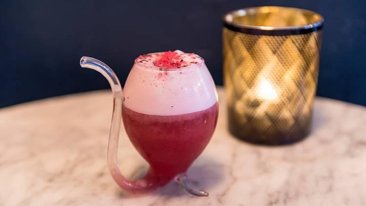 Cocktails at Gin Lane