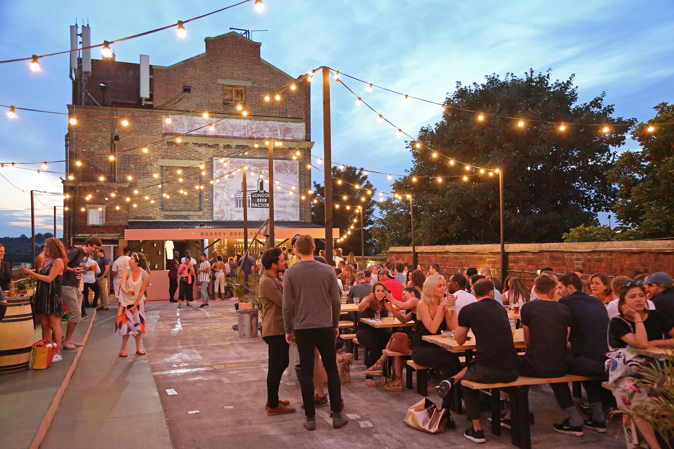 The Bussey Beer Garden