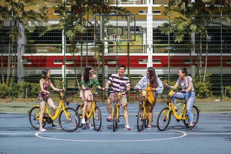 ofo, bike sharing, app