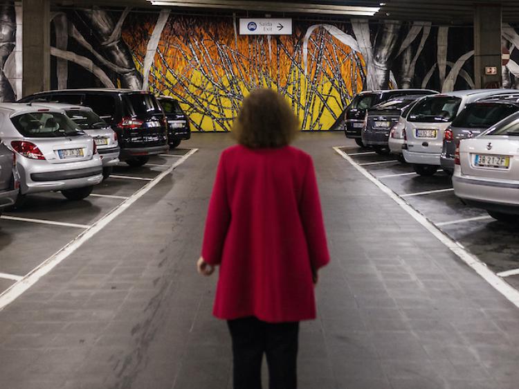 Arte underground no Parque da Gulbenkian