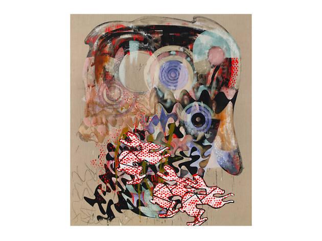 Charline von Heyl, Mana Hatta, 2017