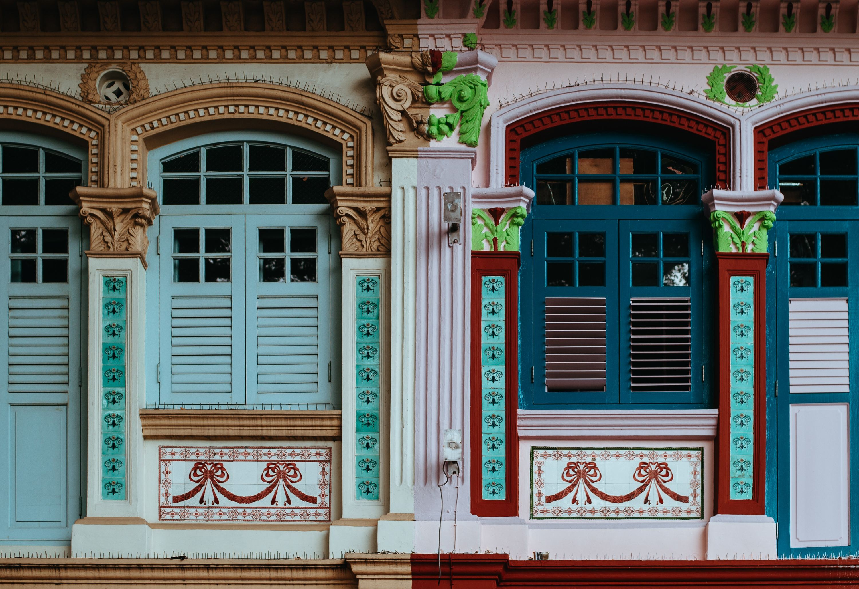 Shophouses, singapore