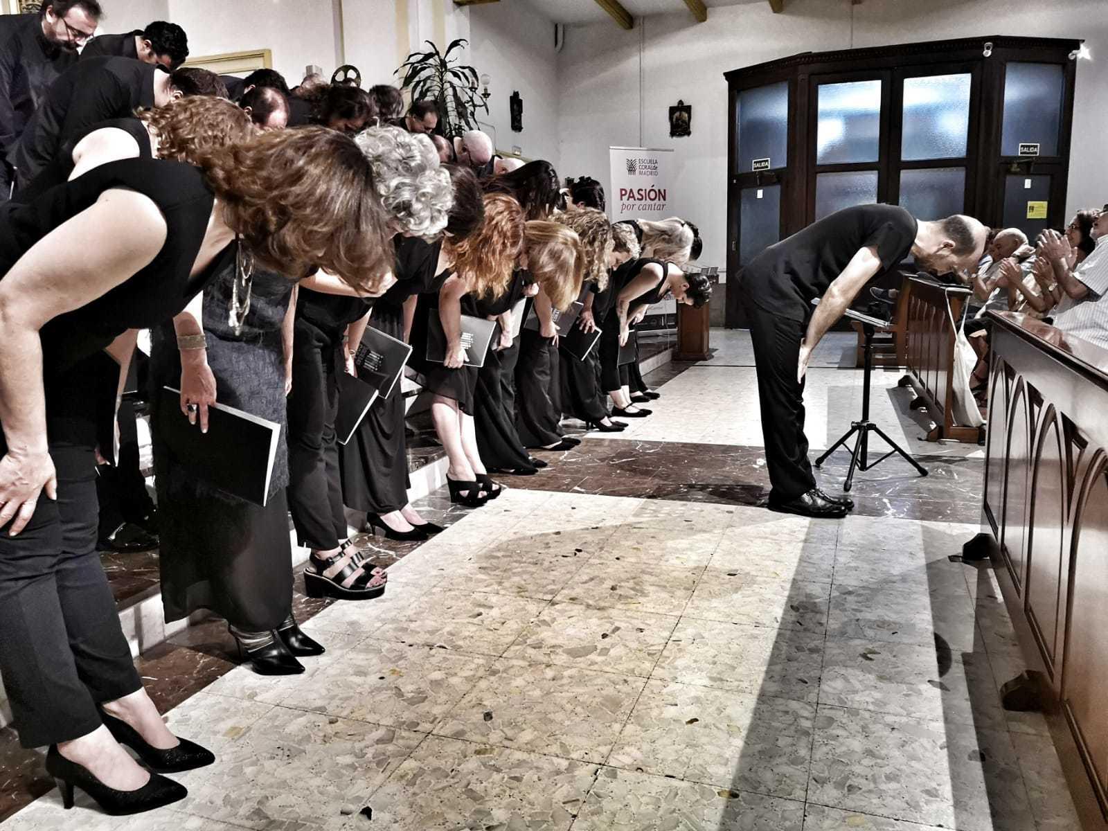 Concierto Escuela Coral de Madrid