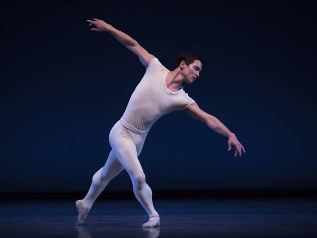 Pacific Northwest Ballet principal dancer James Moore