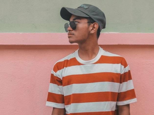 hat sunglasses
