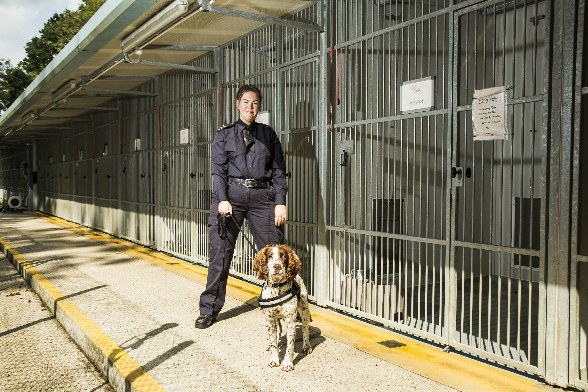 Things you only know if you're a Border Force dog handler