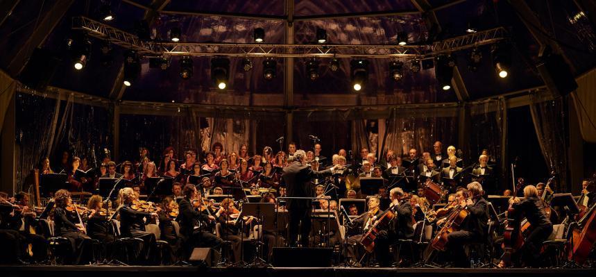 Liceu Orchestra and Choir Mercè concert