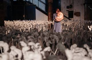 (Patricia Piccinini's 'The Field' at Sydney Contemporary. Photograph: Daniel Boud)