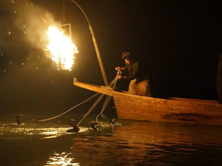 Cormorant fishing (ukai)
