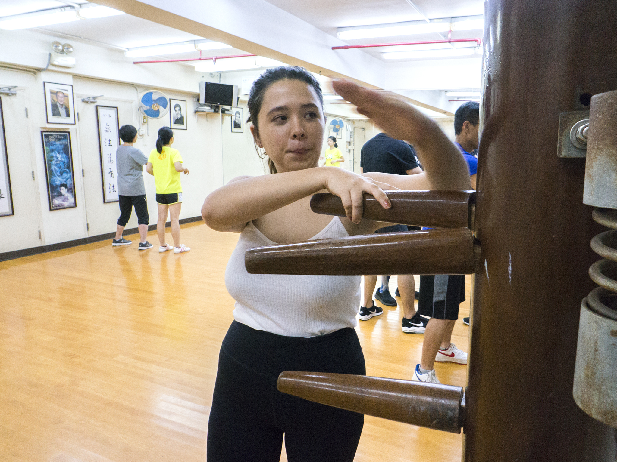 Sarah Moran Wing Chun at Pure Ving Tsun