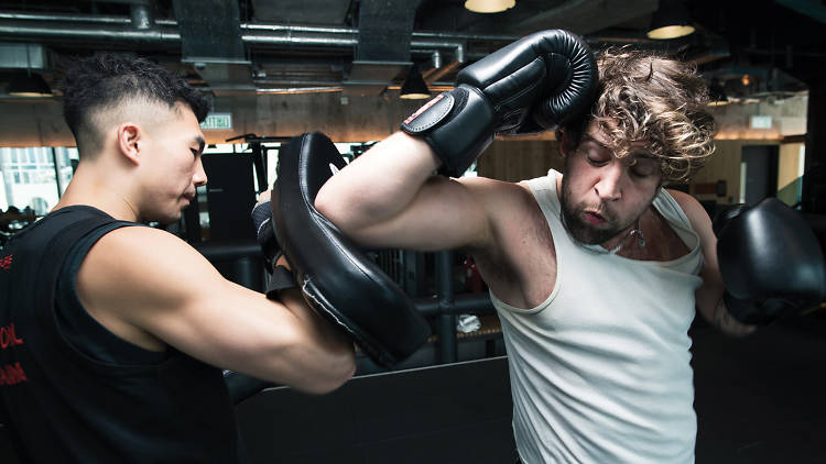 Graham Turner Kickboxing at Pure Fitness