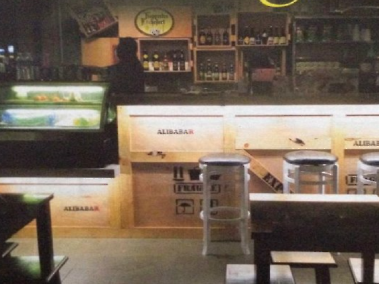 Alibabar the Hawker Bar