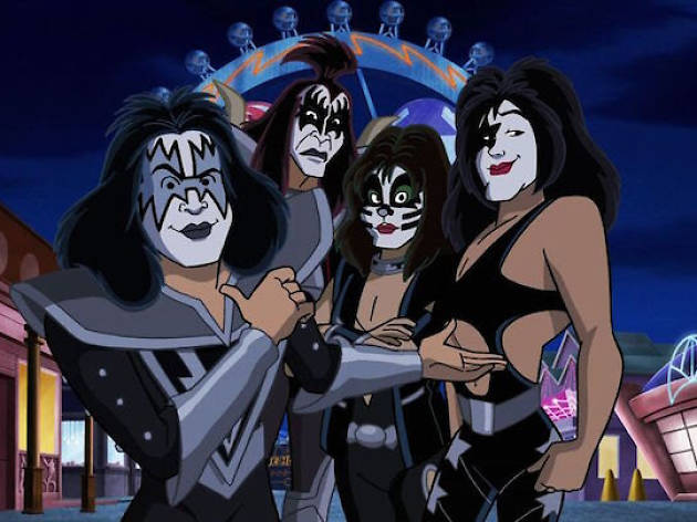 Scooby-Doo! y Kiss: Misterio a ritmo de Rock and Roll