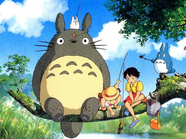 Mi vecino Totoro, una de las películas de Hayao Muyazaki