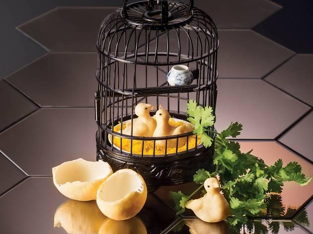 Yum Cha - baked pineapple puff