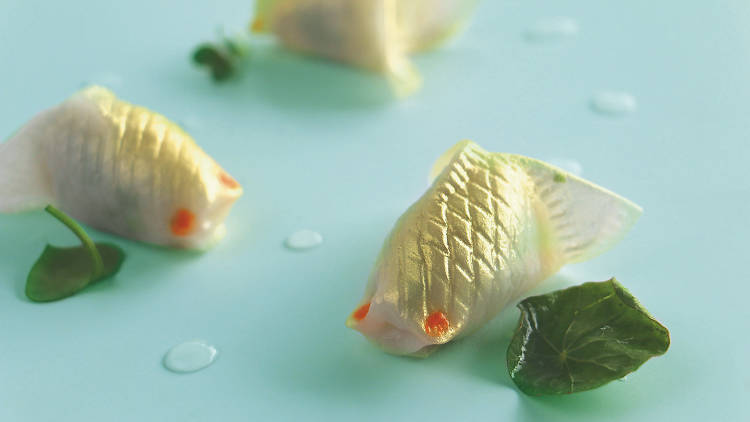 Man Ho goldfish dumpling