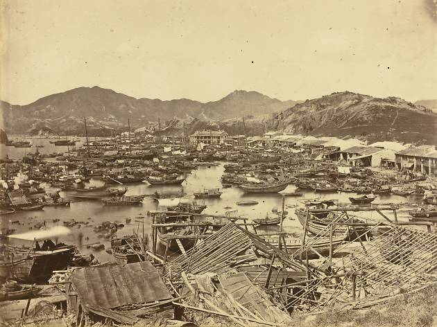Hong Kong Typhoon 1874