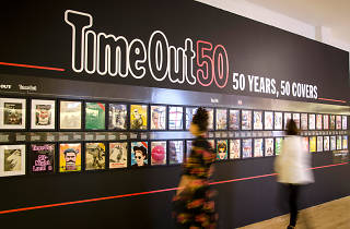 Time Out 50: 50 Years, 50 Covers exhibition