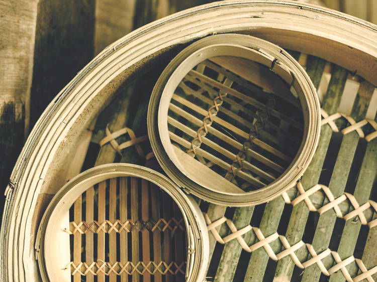 Tuck Chong Sum Kee bamboo steamers
