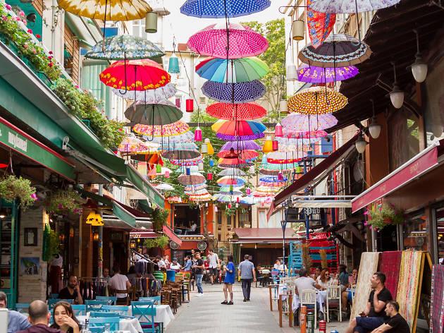 Serasker Caddesi, Kadıköy-Moda, Istanbul