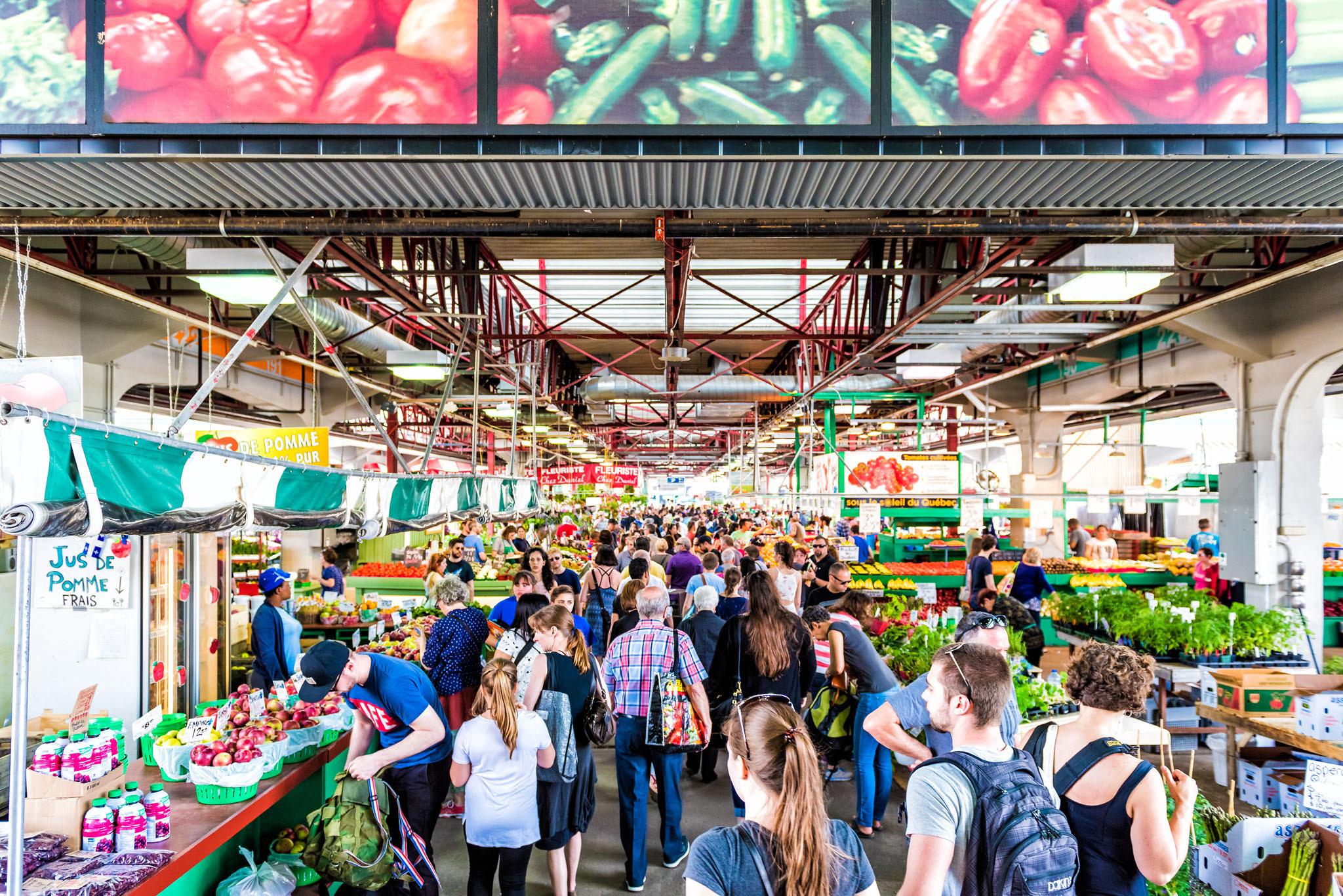 Jean Talon Market, Petite Italie, Montreal