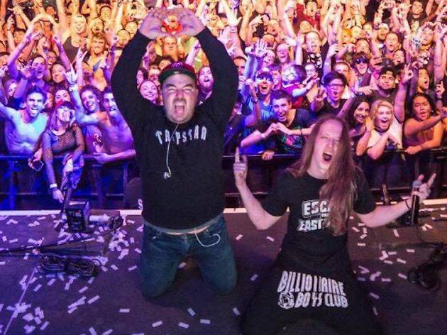 Crowd Ctrl with Pegboard Nerds