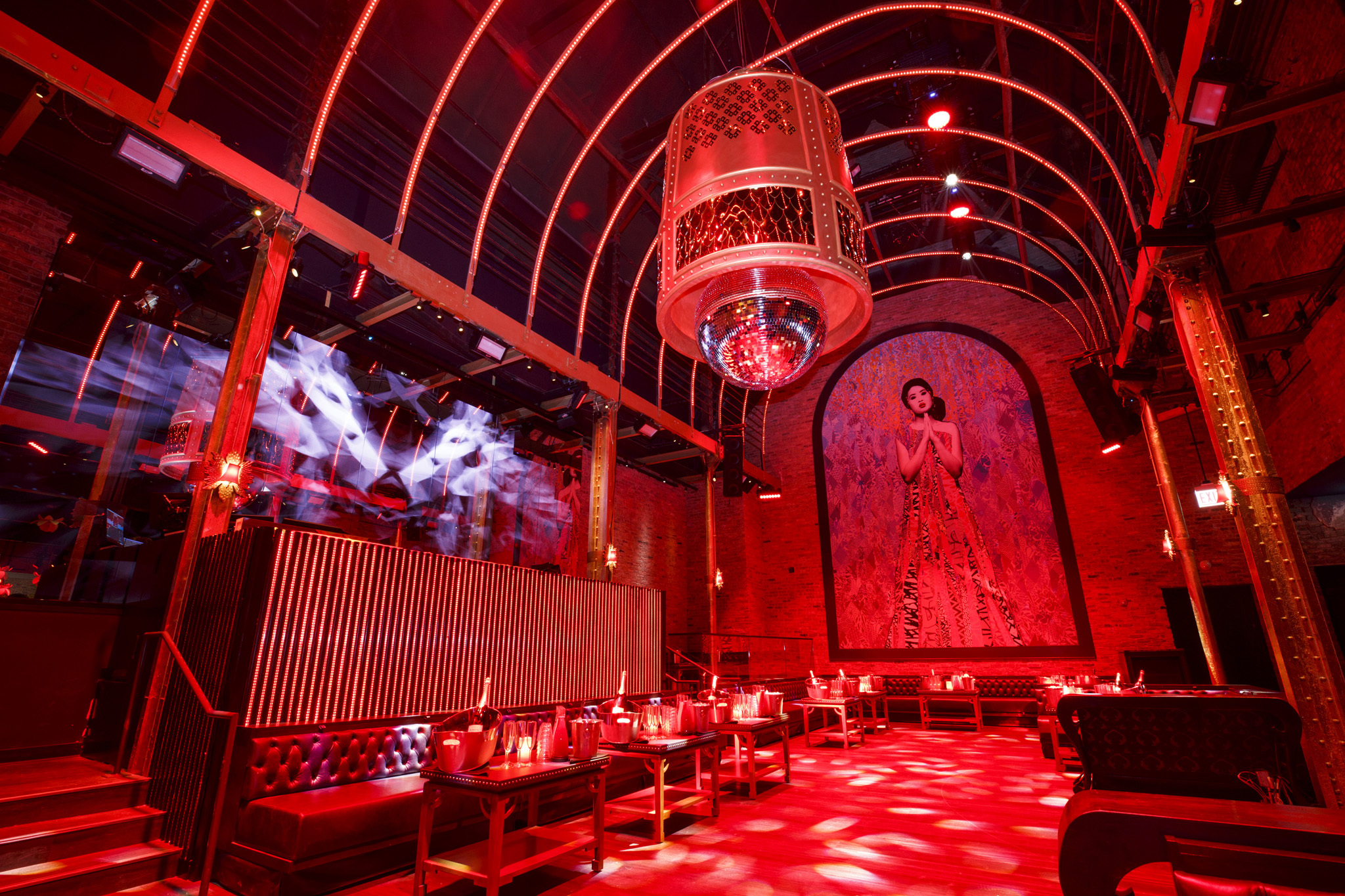 Peek inside of Tao Chicago's nightclub