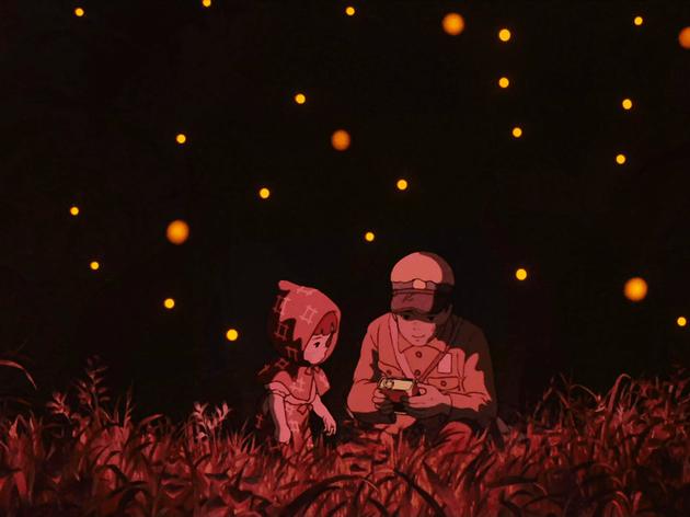 La tumba de las luciérnagas a piano