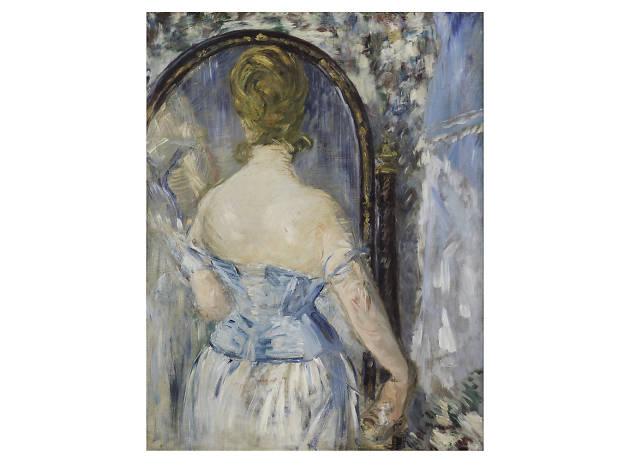 Édouard Manet, Before the Mirror (Devant la glace), 1876