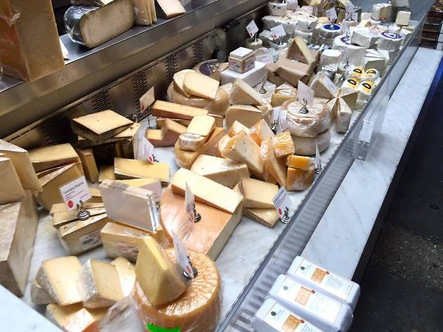 Farmshop cheese counter in Santa Monica Brentwood