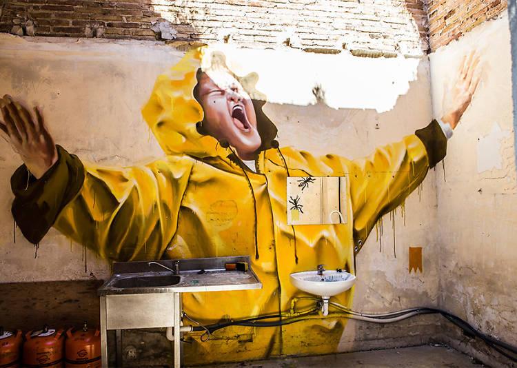 Street art and graffiti in Barcelona