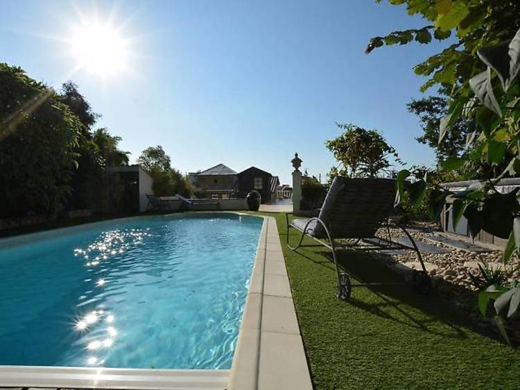 A countryside villa with private pool