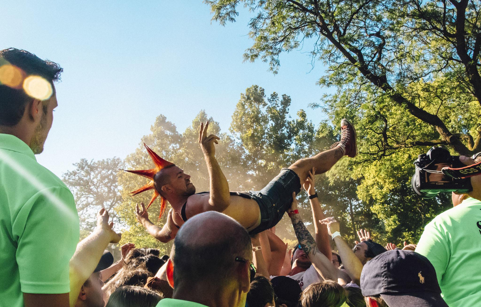 Riot Fest music festival