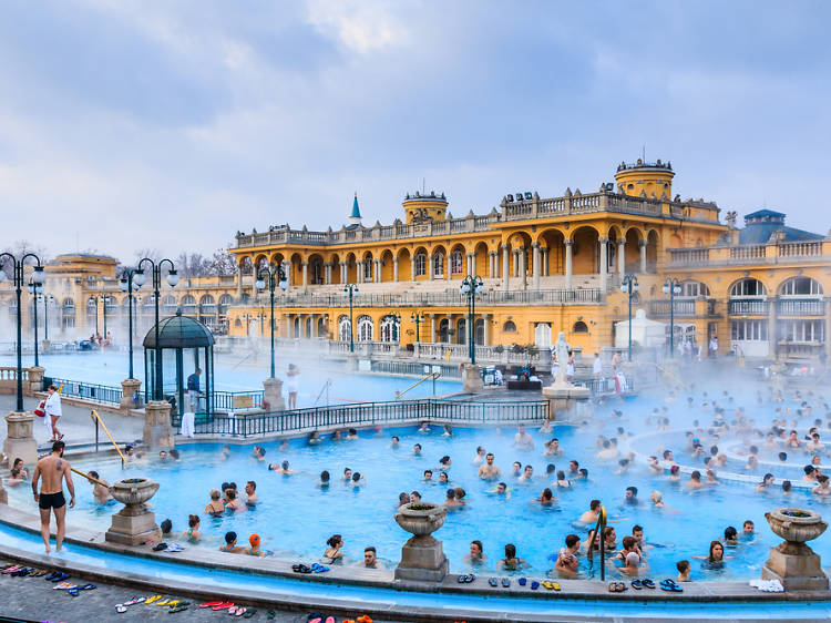 De relax a Budapest