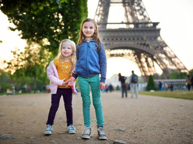 A París en família