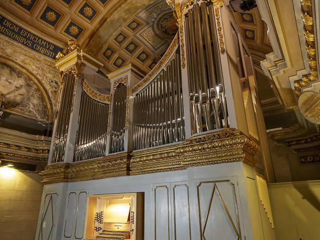L'orgue de la Basílica de la Mercè