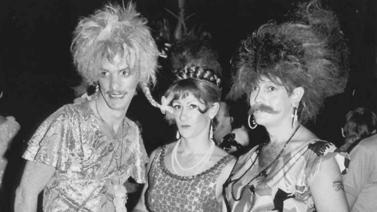 Sleaze Ball, 1986, [1] [picture] / William Yang