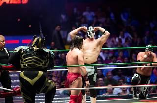 Lucha libre mexicana en la Arena México