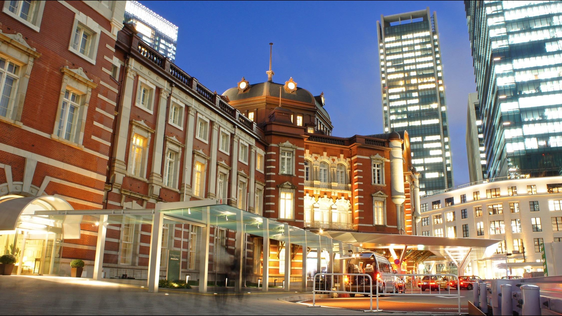 Outside Tokyo Station