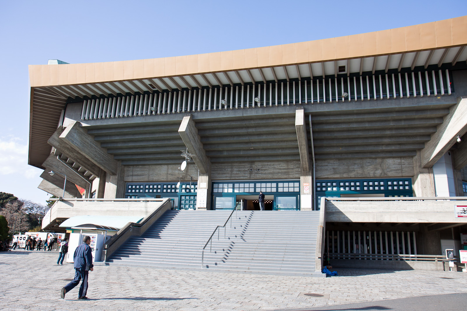 The Nippon Budokan is an arena in central Tokyo, Japan.