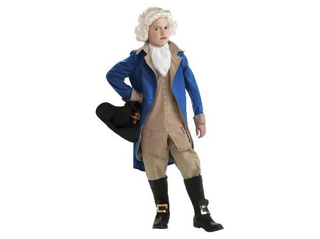 11 Best kids Halloween costumes George Washington
