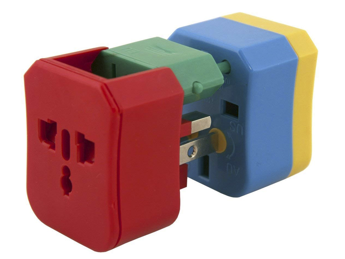 Travel essentials plug adapter
