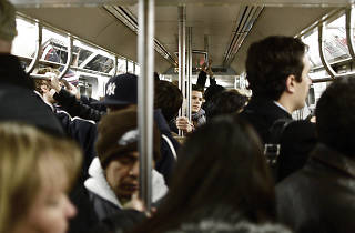 There was only one morning rush hour commute without delays last month