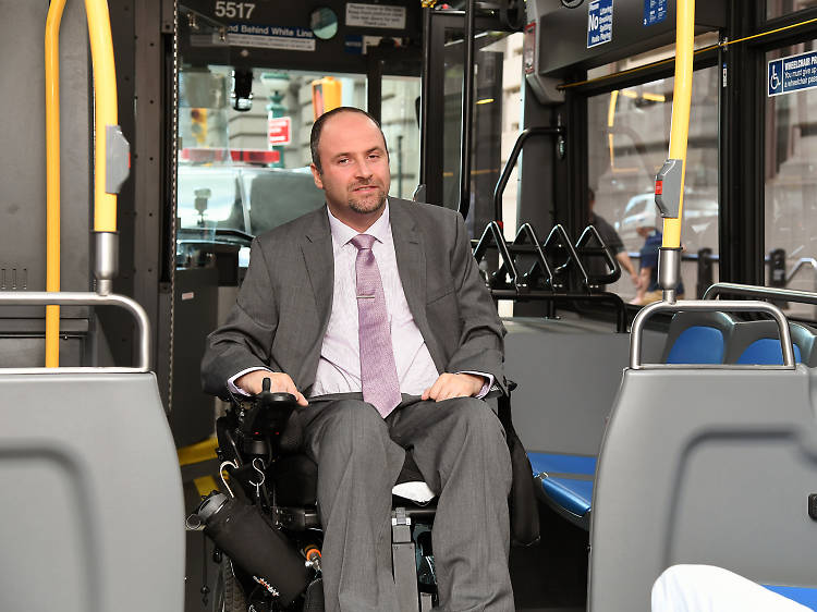 The MTA finally hired its first accessibility chief.