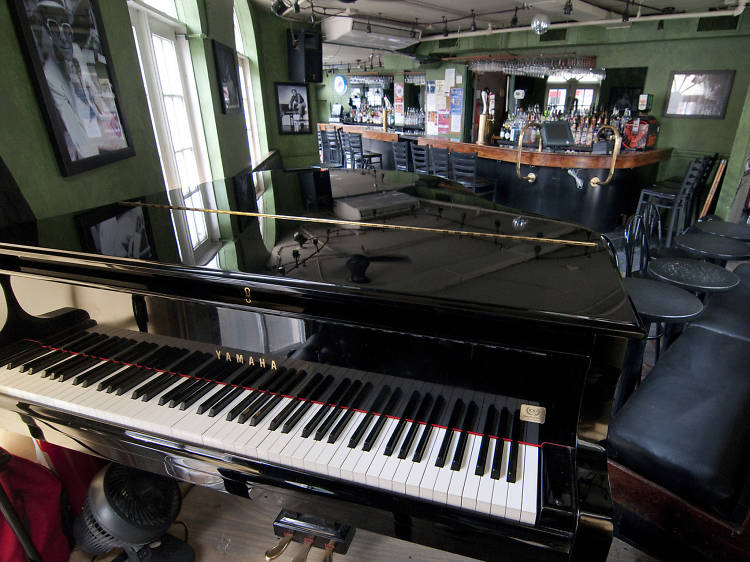 At a single West Village intersection, a whopping three old-timey gay piano bars encourage patrons to sing along with a live pianist every night.