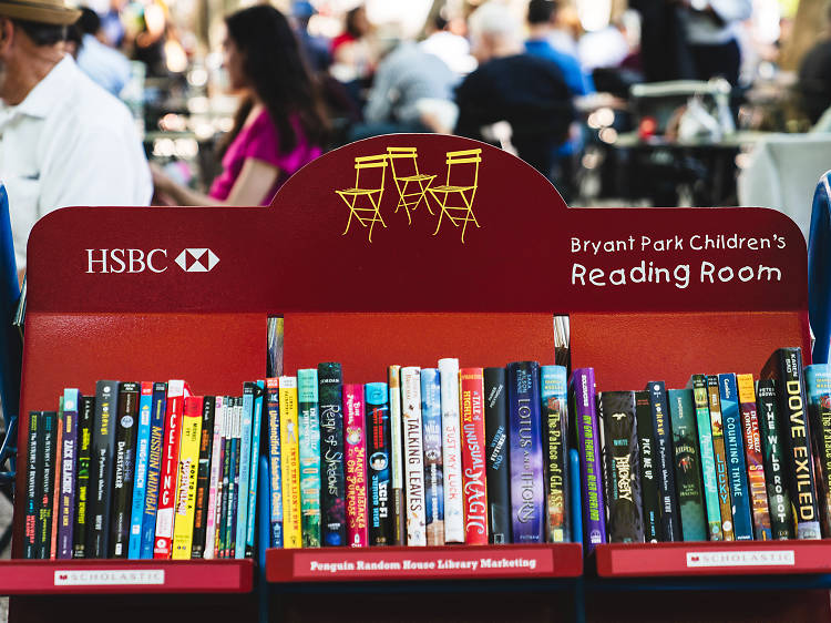 You can now pick up free books to read in public spaces, ranging from Bryant Park and Brooklyn Bridge Park to the heart of Times Square.
