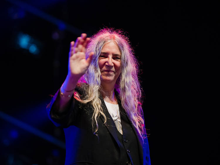 Local legend Patti Smith is working to revive the Rockaways.