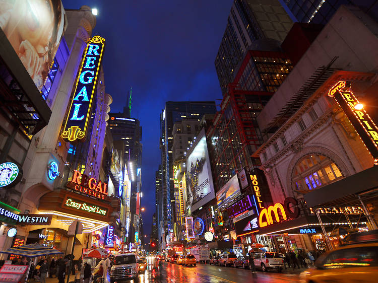 New York is the world capital of theater.