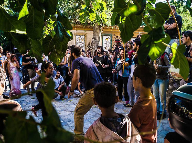 Metaxourgeio, Athènes
