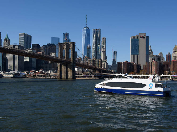 The city finally has a ferry system.